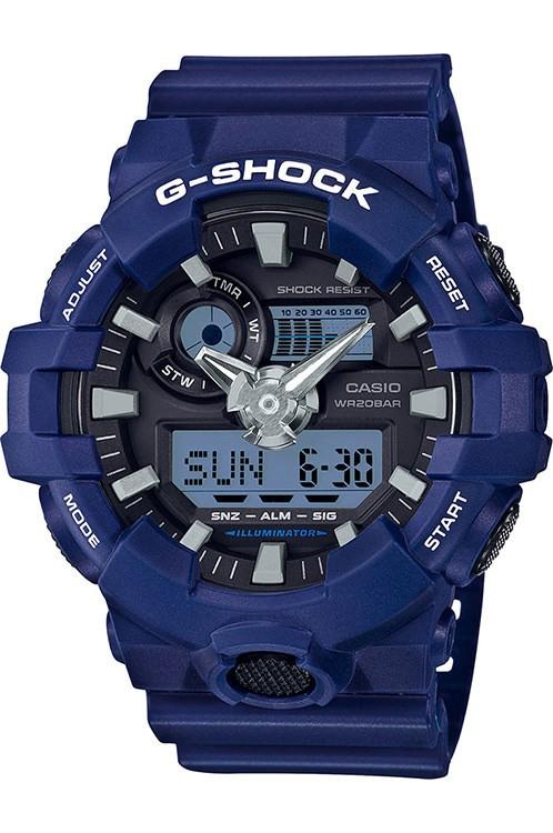Jual Jam Tangan Casio G-Shock Pria Analog Digital Biru Ga-700-2adr Harga Promo Terbaru