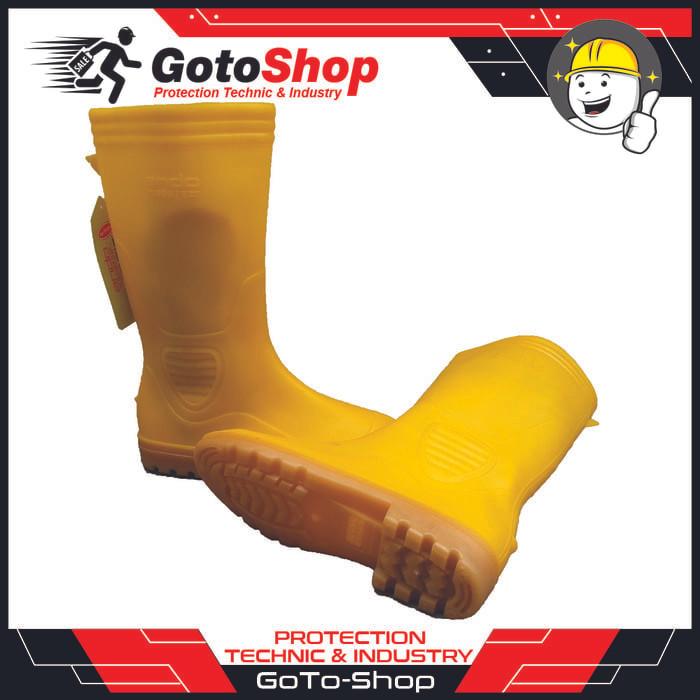 Jual termurah Sepatu Boot Karet Hercules Ando Hijau   Kuning - GT ... 334a294c65