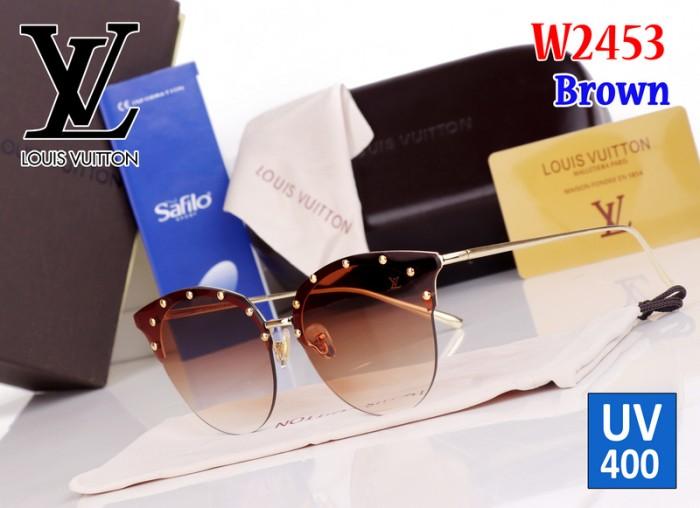 2b321e009be Kacamata Glasses Import UV400 LV Louis Vuitton W2453 2453 Coklat Brown