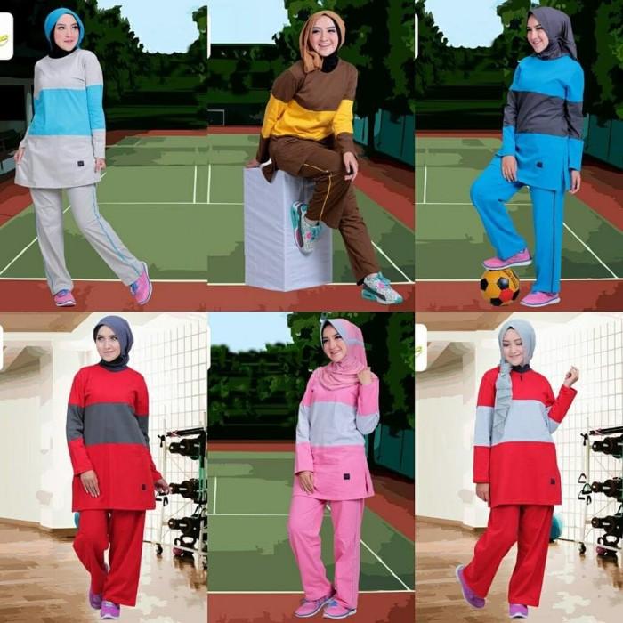 Dijual Setelan Baju Olahraga Wanita Muslim Believe BMS 03 Di Bandung ... 05a0fa4df2