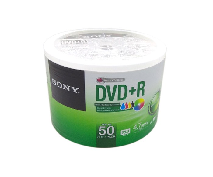 image regarding Printable Dvd-r referred to as Jual DVDR Printable Sony / DVD+R Sony Inkjet Printable White Look - Details Actuality Cellindo Tokopedia