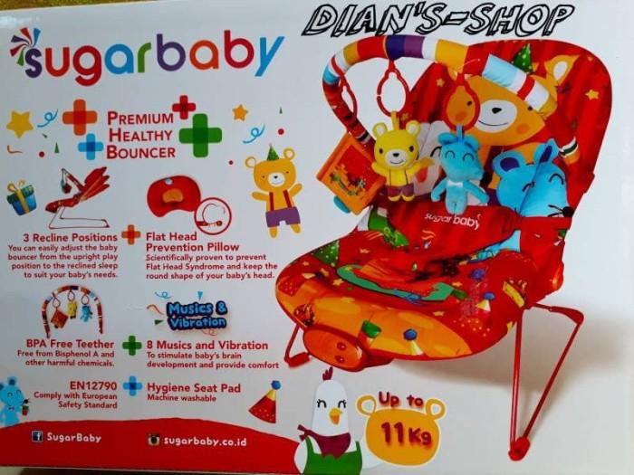 harga Bouncer sugar 8 music/kursi bayi/tempat tidur bayi/mainan bayi Tokopedia.com