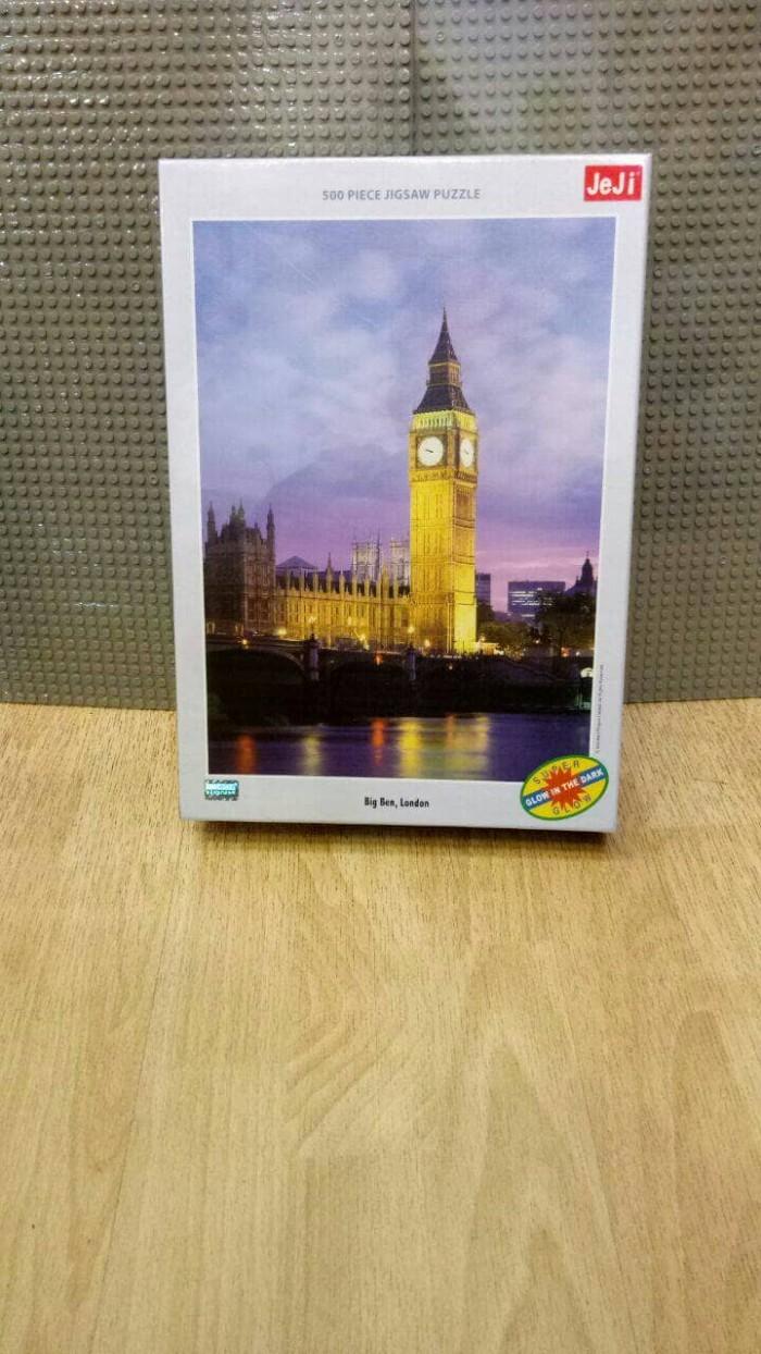 Jual Jigsaw Puzzle Tomax Glow In The Dark Big Ben London 500pc Kota Bandung ANICORE