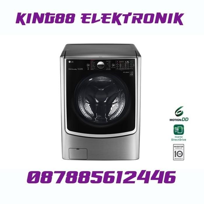 harga Lg 2721stwv mesin cuci front loading (21kg/interver motor/steam) Tokopedia.com