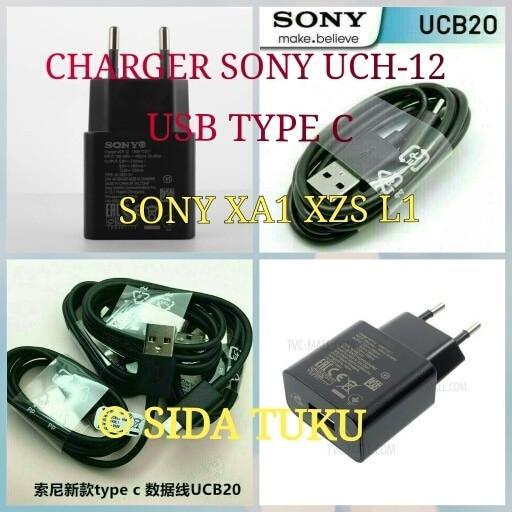 harga Charger sony uch 12 + usb cable type c ucb 20 for sony xa1 xz l1 ori Tokopedia.com
