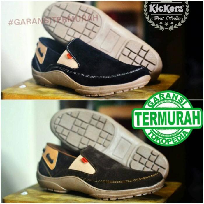 Foto Produk SALE OBRAL SEPATU CASUAL PRIA SLIPON SIMPEL SANTAI KICKERS BEST SELLER - Cokelat, 38 dari Sepatu Distro Bandung