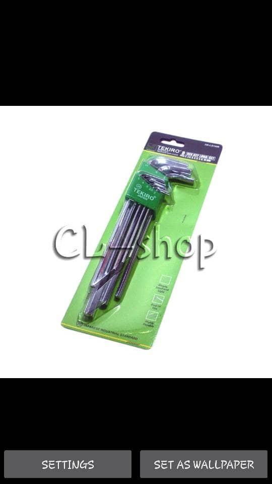 harga Kunci l panjang set tekiro alat teknik bengkel onderdil motor mobil Tokopedia.com