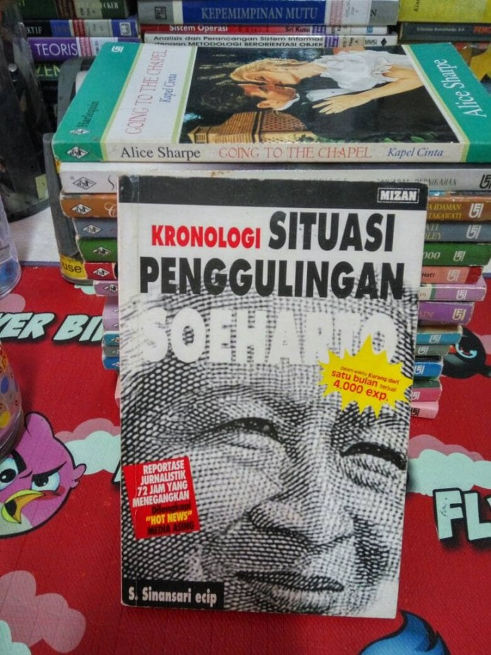Jual Kronologi Situasi Penggulingan Soeharto Toko Simu Tokopedia