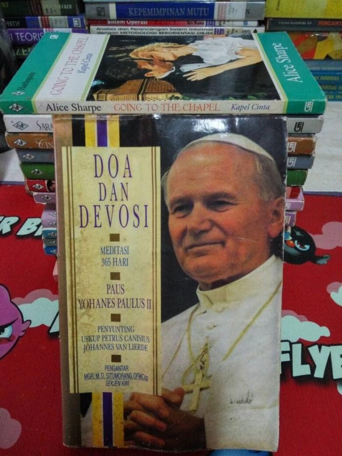 Jual Doa Dan Devosi Paus Yohanes Paulus Ii Toko Simu Tokopedia