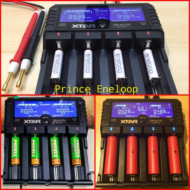 harga Xtar dragon vp4 plus charger baterai 18650/aa aaa /li-po (# powerex #) Tokopedia.com