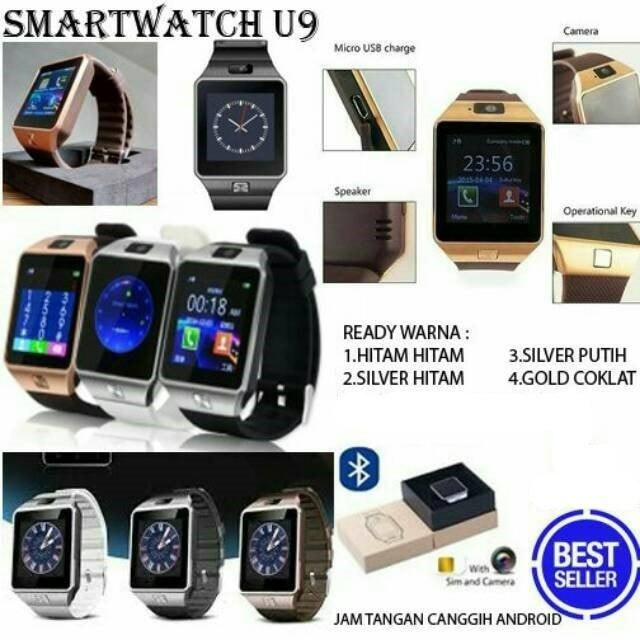 harga Jam tangan hp android pintar kado pacar anak unik u9 dz09 smartwatch n Tokopedia.com