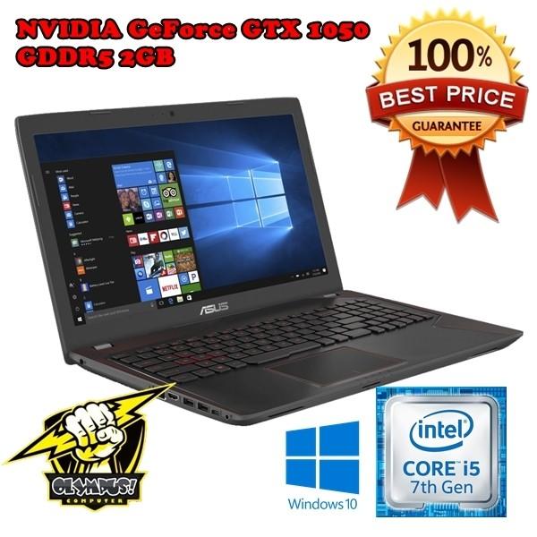 Jual Asus Fx553v Ddm1025t I5 7300hq Gtx1050 Gaming Laptop Fx553vd Jakarta Pusat Olympus Computer Tokopedia