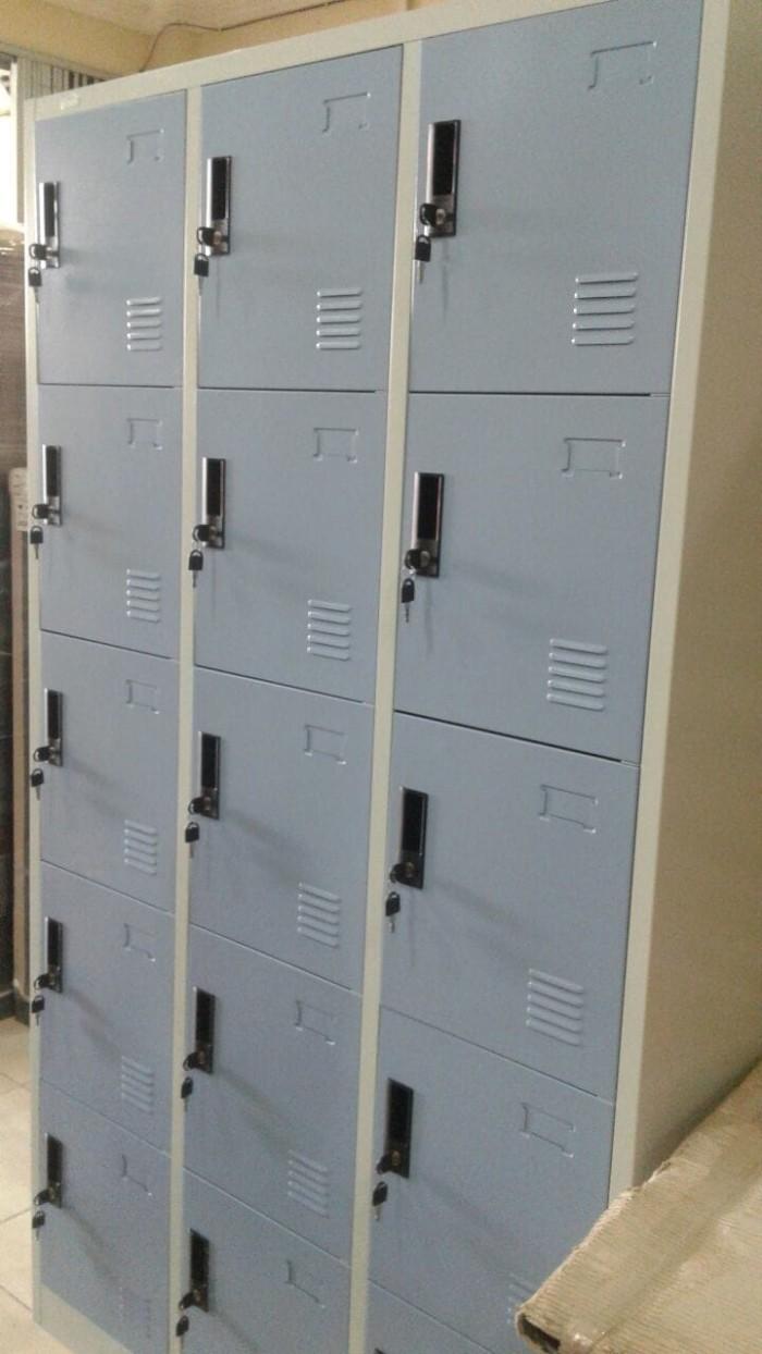 harga Loker modera 15 pintu locker ml8815 rak besi serbaguna lemari arsip Tokopedia.com