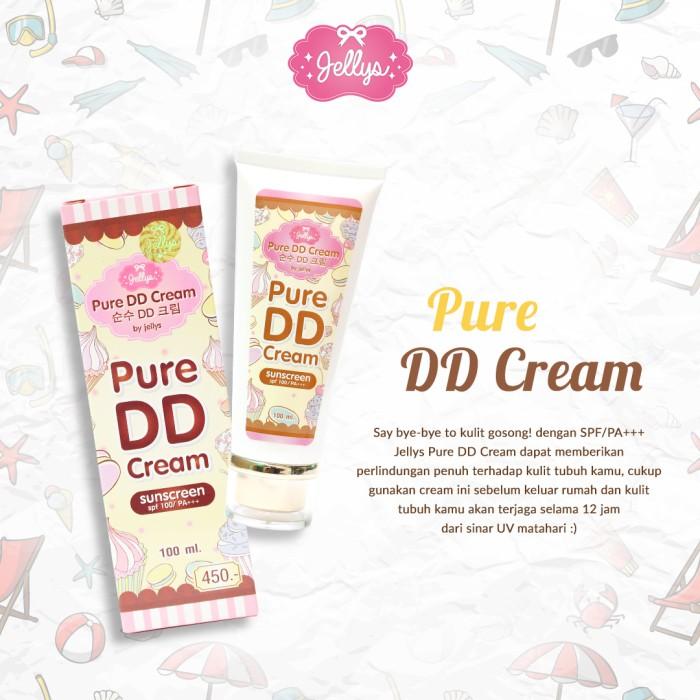 Pure DD Cream Original by Jellys Thailand (dengan Barcode Tracking)