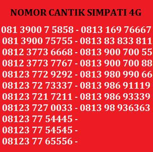 ... Telkomsel Kartu As Nomor Cantik 0852 8888 9397 Daftar Update Harga Source Kartu Perdana Nomor