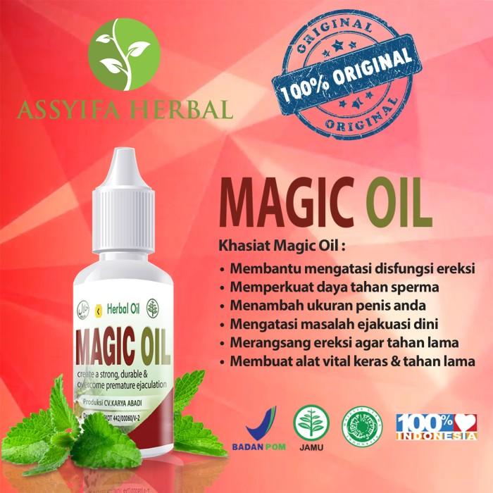 ... atasi disfungsi Source · Dijual Oleh ASSYIFA HERBAL ALAMI di Tokopedia Rp 210 000 Jual Magic Oil Obat Herbal Oles