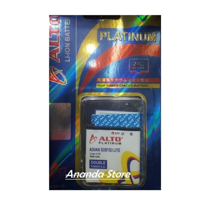 ALTO Baterai Double Power & Ic For Advan S3C/S35F/S3 Lite [3600 mAh]
