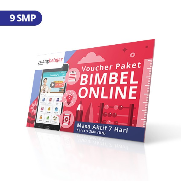 harga Voucher ruangbelajar 7 hari 9 smp Tokopedia.com
