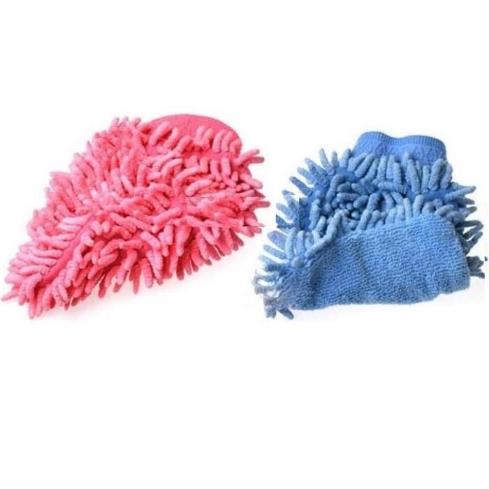 Microfiber Cleaning Glove / Sarung Tangan Pembersih Debu