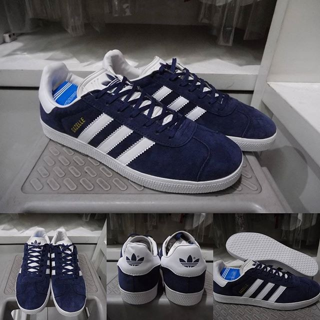 ... harga Sepatu kets sneakers adidas gazelle og dark blue navy biru  Tokopedia.com 95182f89c4