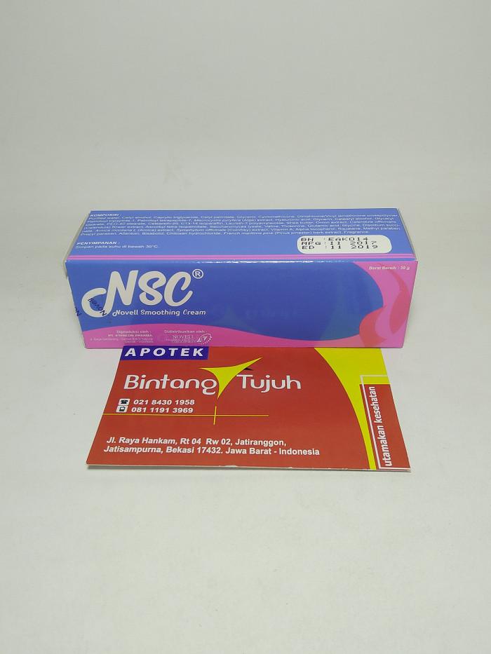 harga Novell smoothing cream / nsc 20gr Tokopedia.com