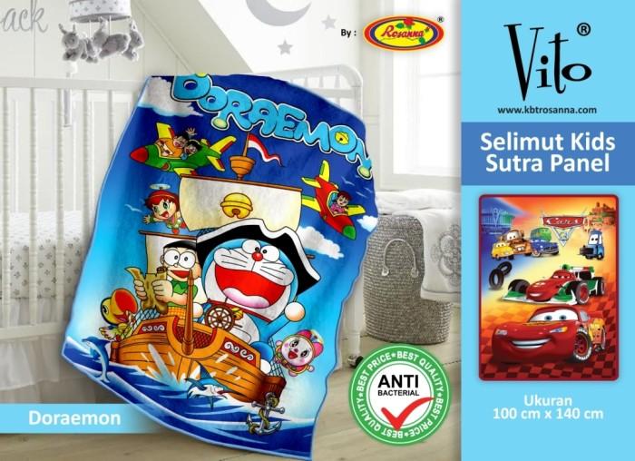 Selimut VITO KIDS Sutra Panel 100x140 Doraemon