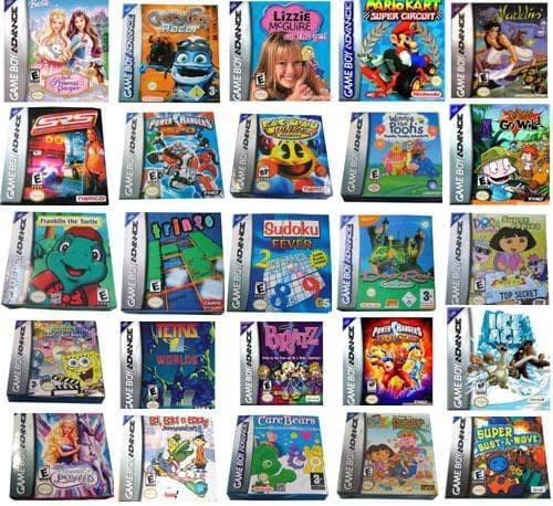 Jual Koleksi lengkap ROM Game Boy Advance / GBA - Jakarta Barat - Top Skor  Shop   Tokopedia