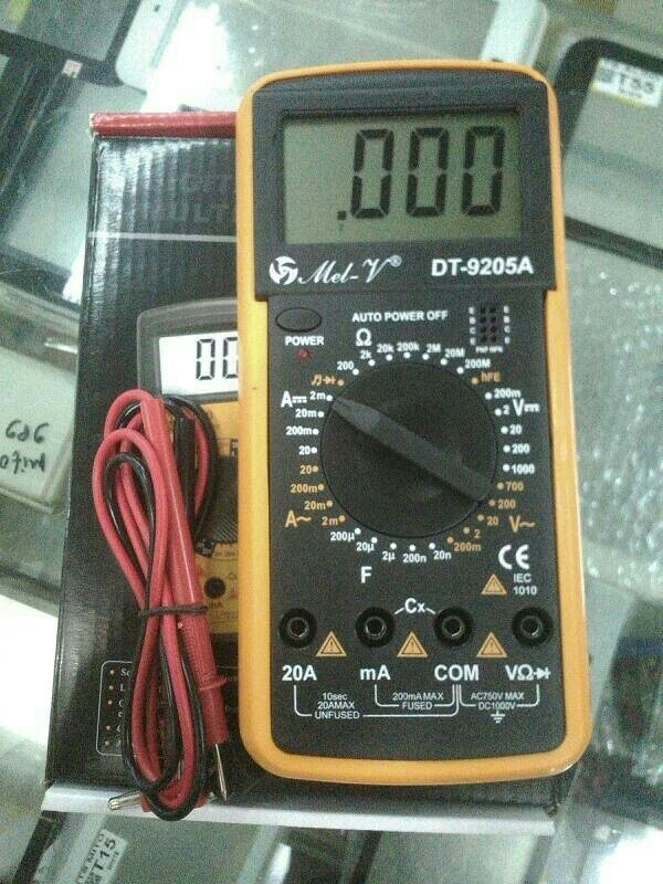 Multitester / Multimeter Digital Dt9205a harga Multitester / Multimeter Digital Dt9205a Tokopedia.com
