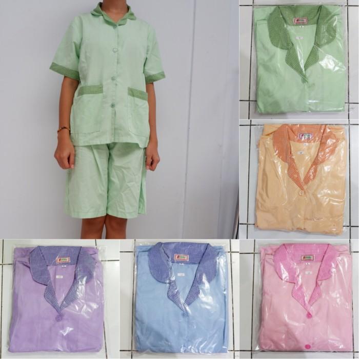 harga Baju seragam suster sizs xxl celana pendek kulot / seragam baby sitter Tokopedia.com