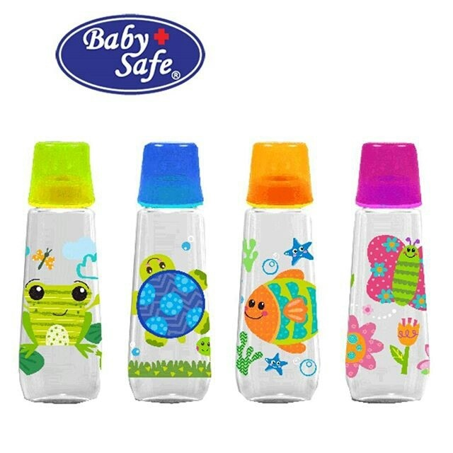 baby safe botol susu Feeding Bottle 250 ml js002