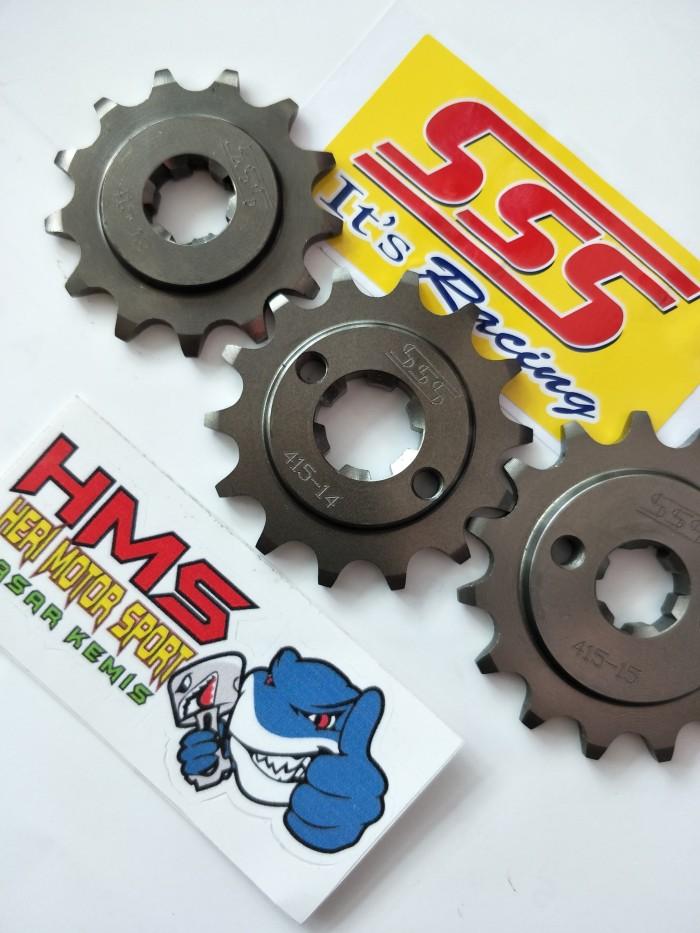 harga Gir/gear depan 415 sss cb 150 r,cbr 150,megapro new,tiger,sonic,verza Tokopedia.com