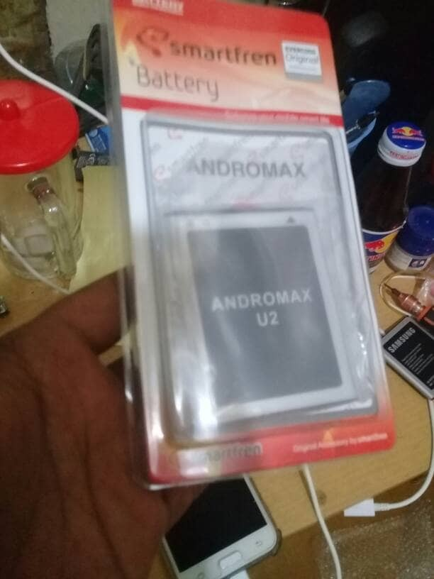 Baterai batre battery smartfren andromax u2 / qi / e2+ original