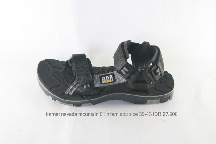 harga Barnet nevada mountain 01 sepatu sandal pria hitam abu Tokopedia.com