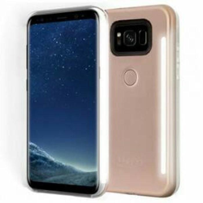 low priced f2df8 5320a Jual Samsung Galaxy S8 Plus - Lumee Selfie DUO LED Case Casing Cover bumper  - Vie Case   Tokopedia