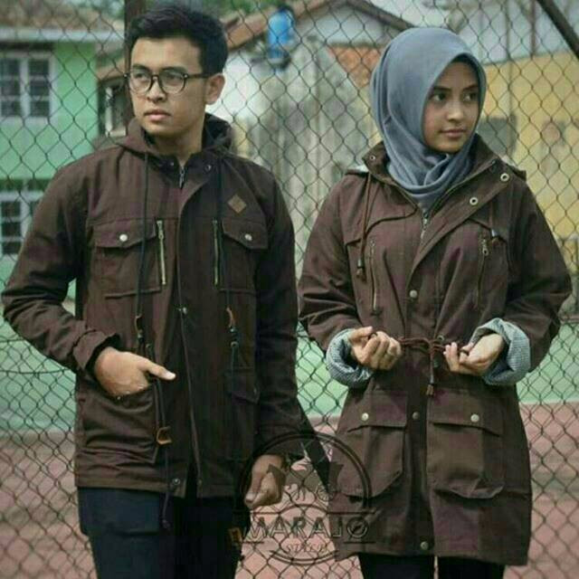harga (hot promo diskon) jaket parka pria wanita couple cowok cewek / bomber Tokopedia.com