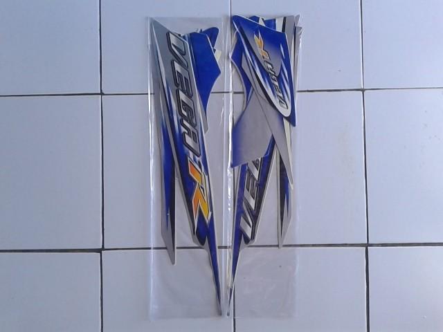 harga Stiker striping motor yamaha vega r 2006 silver-biru Tokopedia.com