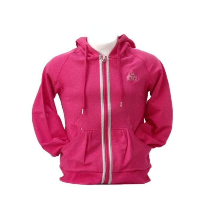 harga Peak jaket gym wanita original f610002-rose - fuchsia l Tokopedia.com