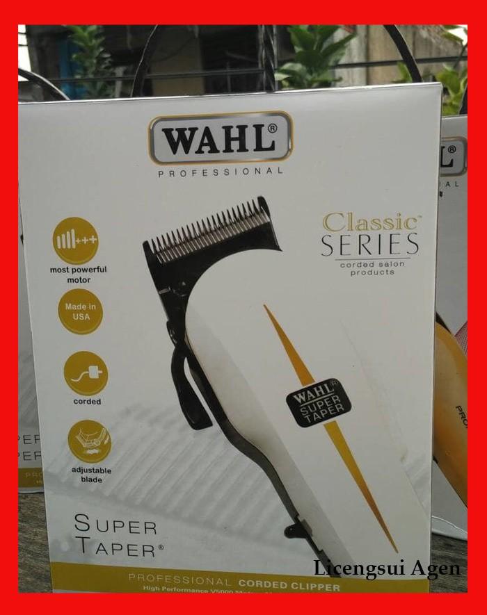 mesin cukur rambut whal - Wahl Profesional Corded Clipper- Super Taper f5656b9ec5