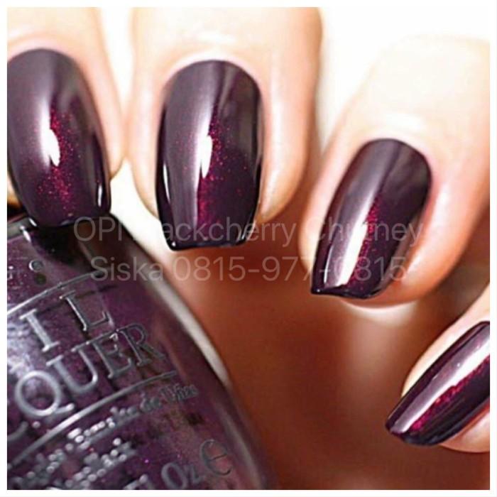 harga Kutek opi nail lacquer black cherry chutney Tokopedia.com