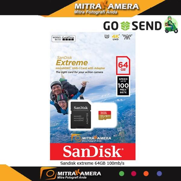 harga Sandisk extreme 64gb 100mb/s Tokopedia.com