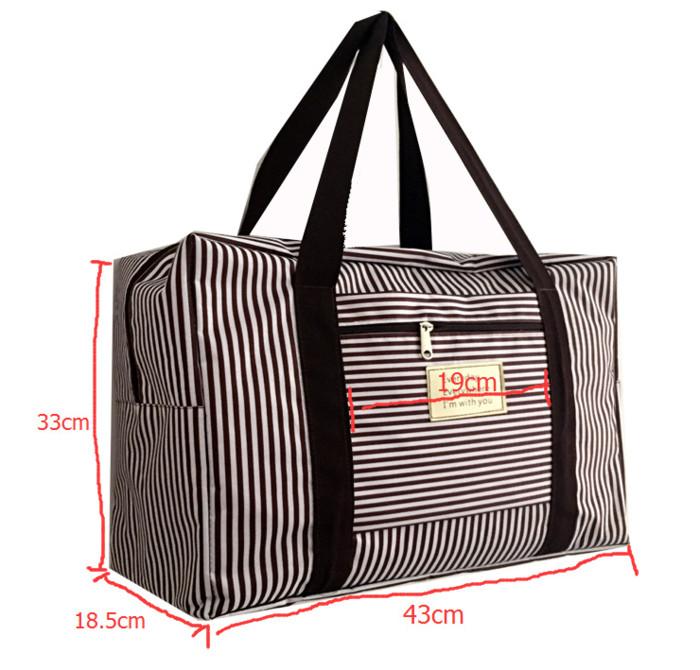 New FOLDABLE TRAVEL BAG /HAND CARRY TAS LIPAT / KOPER LUGGAGE