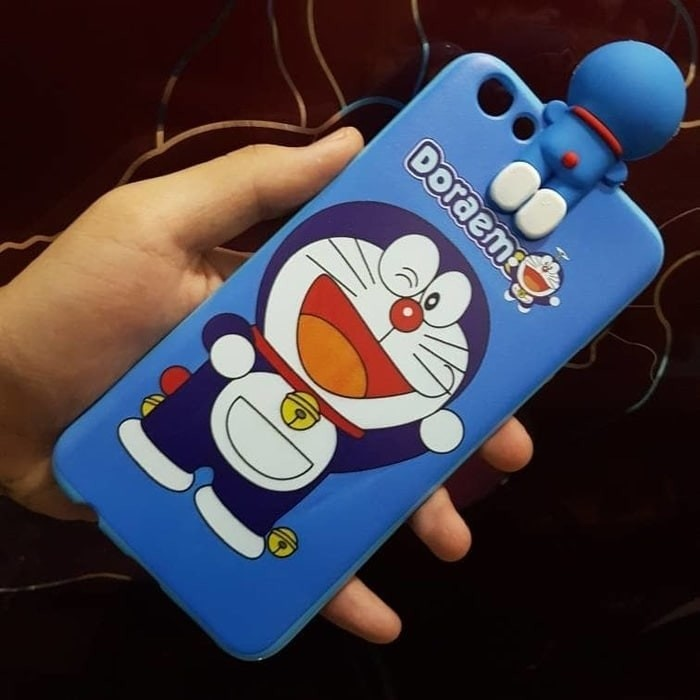 Iphone 6 6s 3d Doraemon Silikon Sarung Softcase Case Gambar Karakter