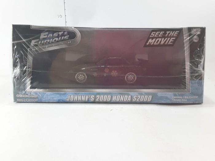 Diecast Car Greenlight 1/43 Fast and Furious Johny Honda S2000 NEW
