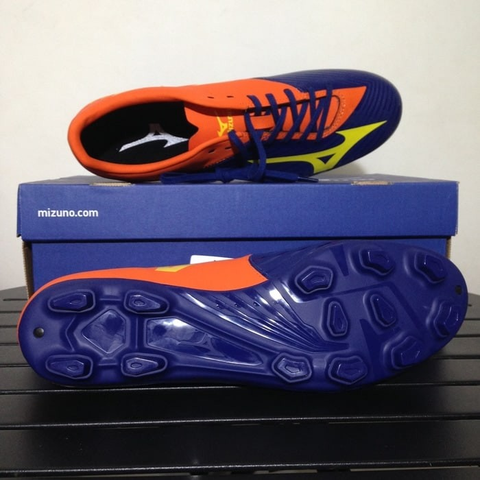 Sepatu Bola Mizuno Basara 103 MD Navy Orange P1GA176454 Original BNIB 76979d7260