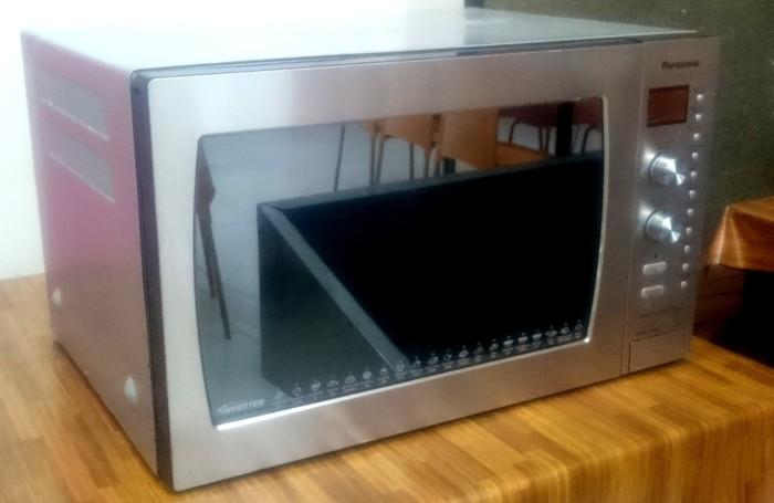 Panasonic Nn Cd997s Dimension 4 Genius Microwave Oven Convection