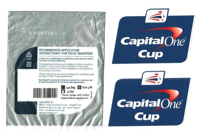 harga Patch efl capital one 2012-2016. for original jersey Tokopedia.com