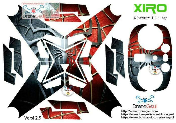 harga Sticker drone xiro spiderman black red Tokopedia.com