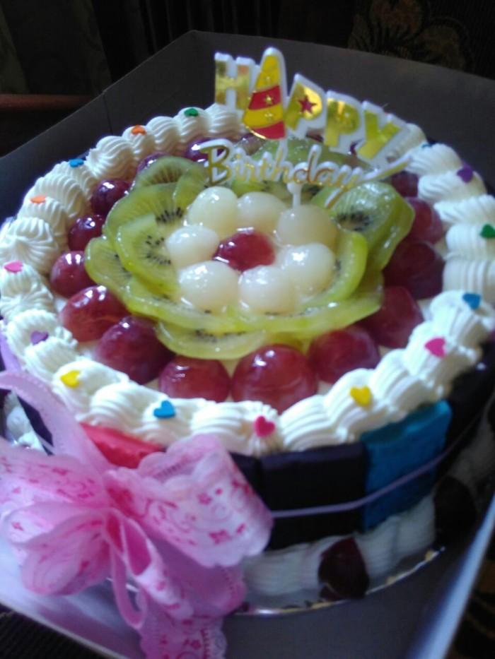 Jual Kue Bolu Ulang Tahun Pernikahan Kota Bandung Kahfa Bakery Tokopedia
