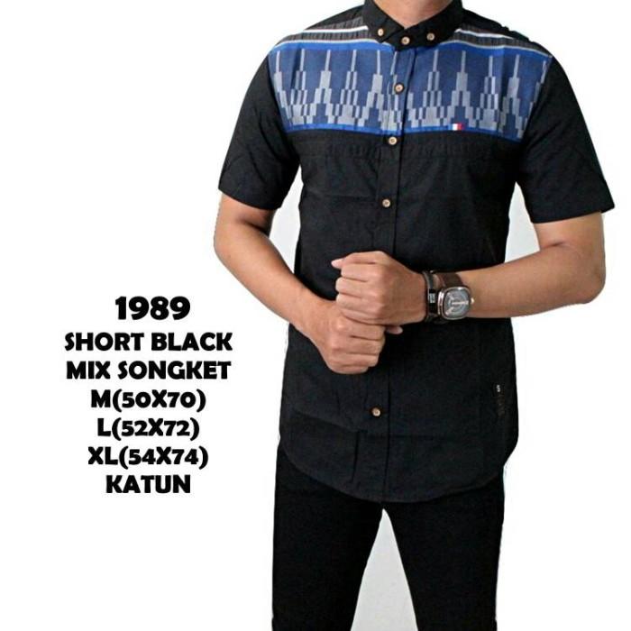 Jual Baju Kemeja Slimfit Pria Atasan Songket Promo Grosir Dki Jakarta Redbuddha Tokopedia