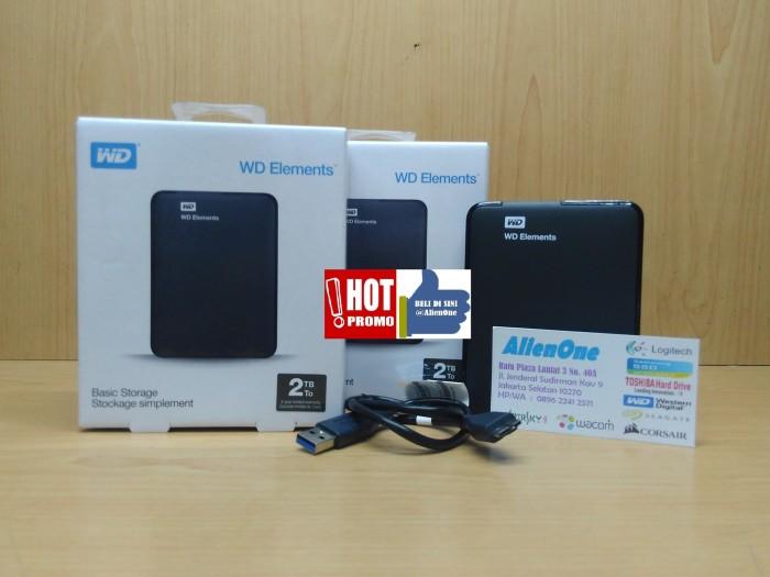 harga Wd elements 2tb 2.5  hdd hardisk eksternal 2tb elements ext Tokopedia.com
